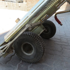 Cart to transport pavers