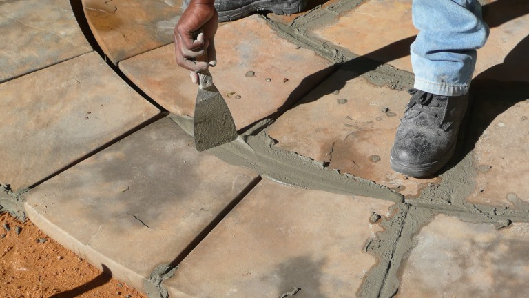 Cement Paving Grouting Method