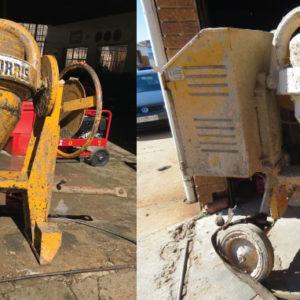 Cretesol-Conrete-Remover cement mixer