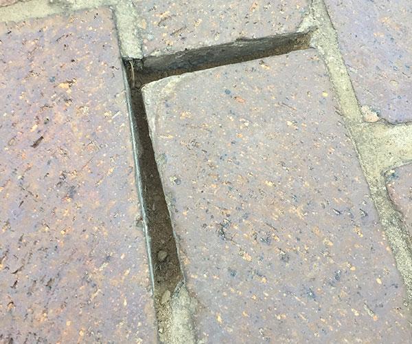 Broken Cement Grout