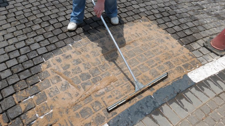 Paving Grouting Application