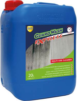 GuardWash Express packing container