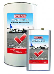 Resiblock 22 Paving Grout Stabilisers Paving Sealants