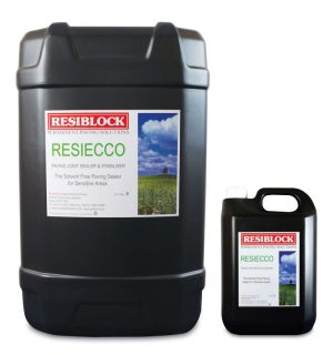 Resiblock Resiecco Paving Grout Stabilisers Paving Sealants