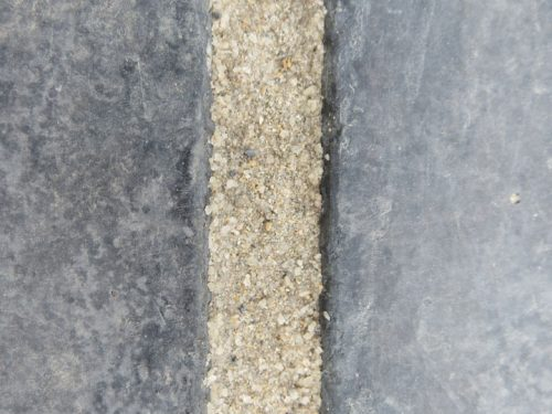 Romex grouting extreme close up image